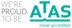 We're proud to be ATAS travel accredited